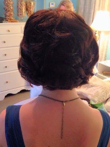 DoItUpGA.blogspot.com #shorthair #shortformalstyles #curls