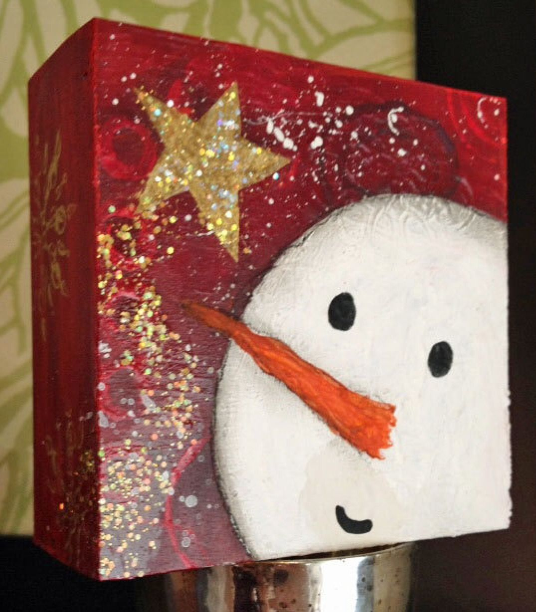 Pin By Linda Smith On Painting Christmas Canvas Christmas Paintings Christmas Paintings On Canvas