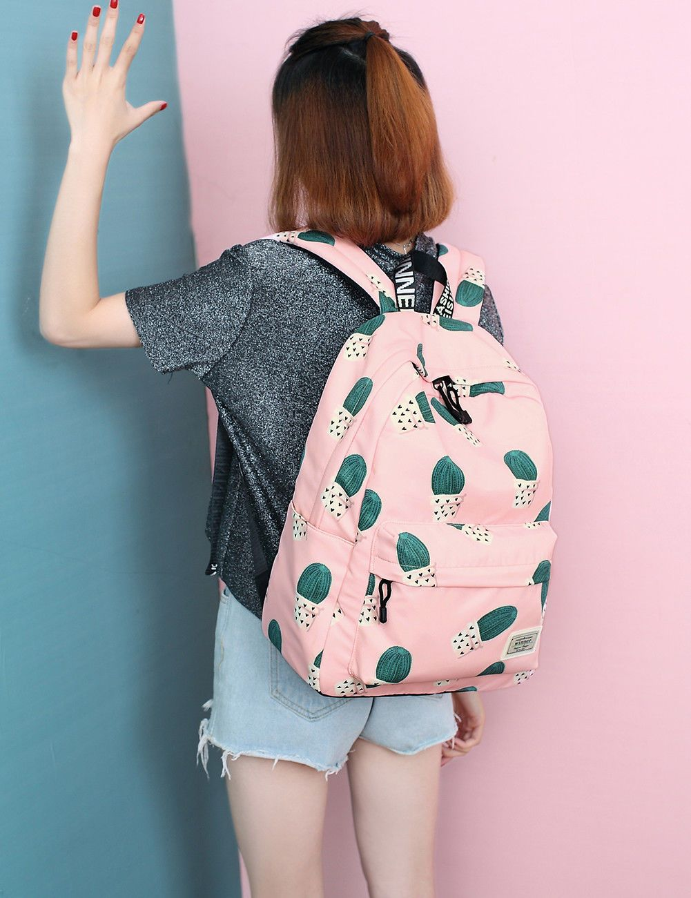 Kids' Clothes, Shoes & Accs. Luggage Bright Canvas Backpack Travel Rucksack Adjustable Bag Boys Girls College Uni School Goods Of Every Description Are Available