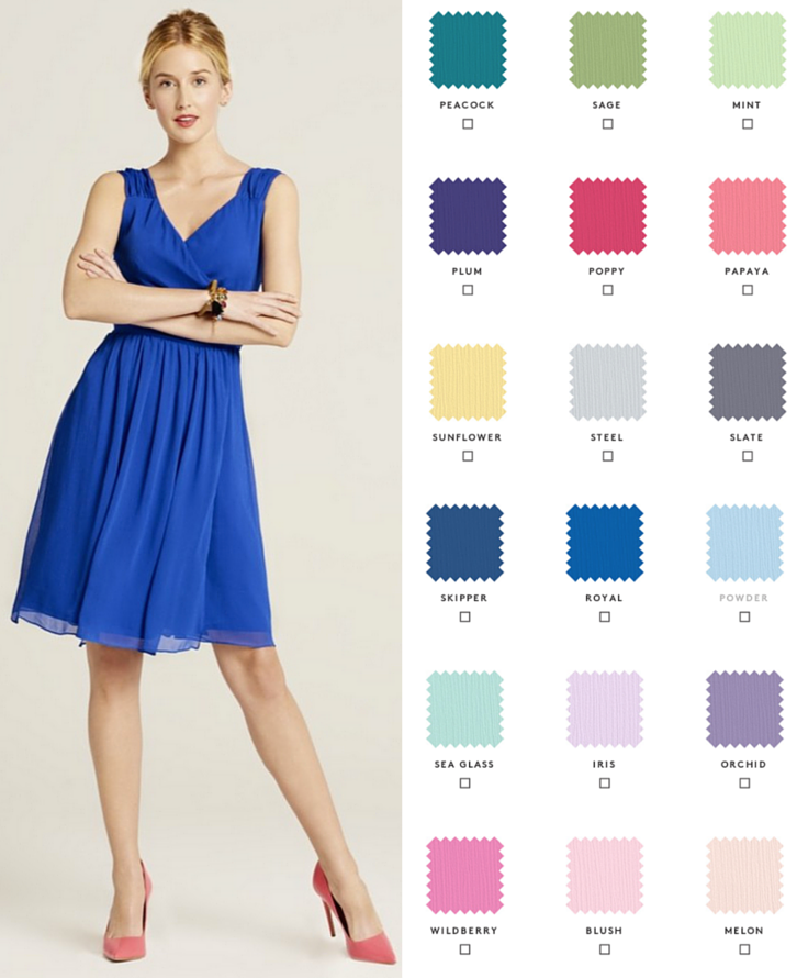 846f058c897 Cute Bridesmaid Dresses · Request free color swatches to see our shades in  person! Choose from 10 gorgeous styles