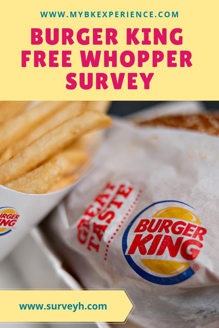 Mybkexperience Burger King Survey Feedback Merchdope Burgerking Survey Burgerkingsurvey Burger King Burger Surveys