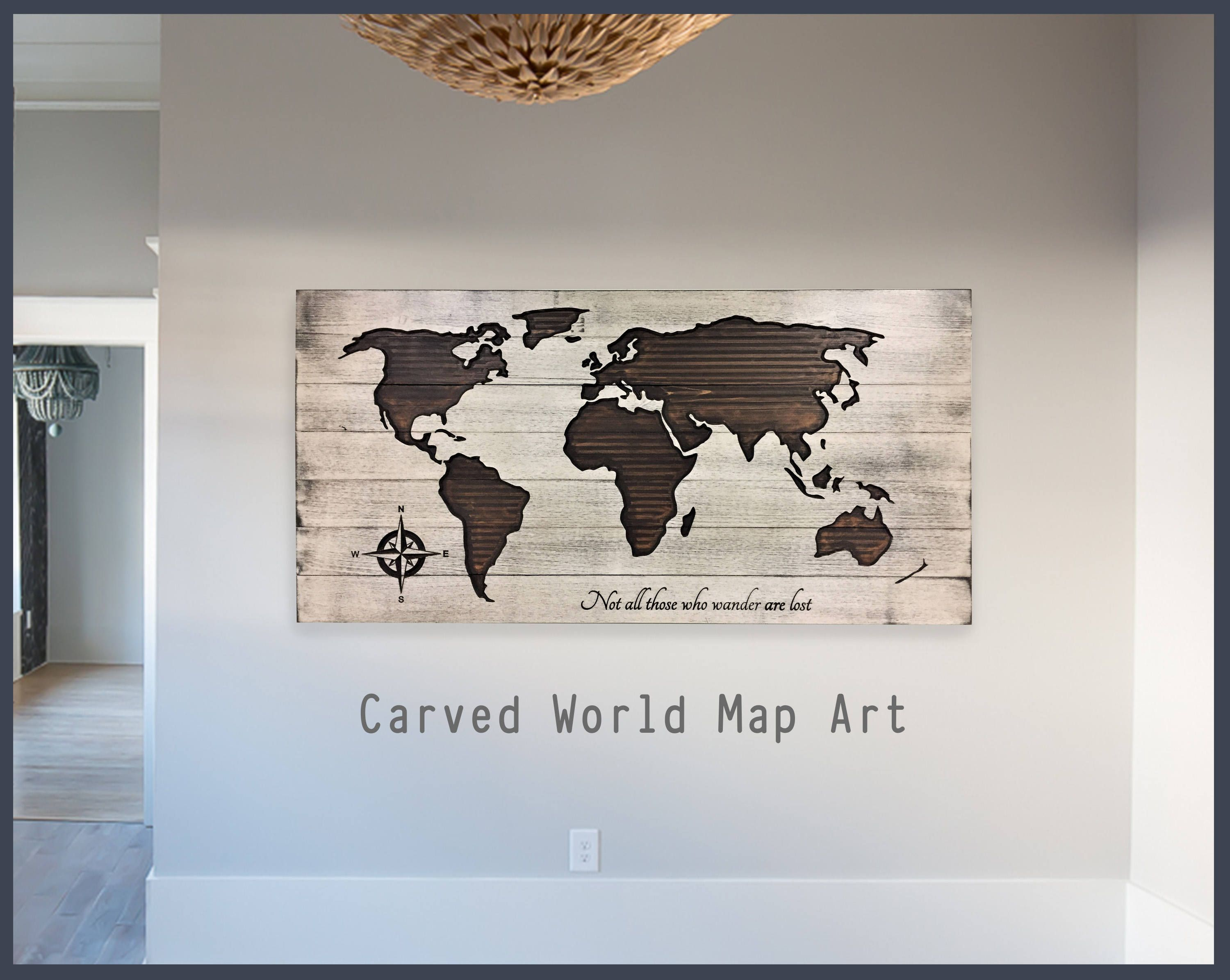 World map home wall decor wooden map world map wall art wood wall world map home wall decor wooden map world map wall art wood wall gumiabroncs Images