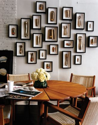 3d framed objects <3 | I heart Gallery Walls. | Pinterest | Shadow ...