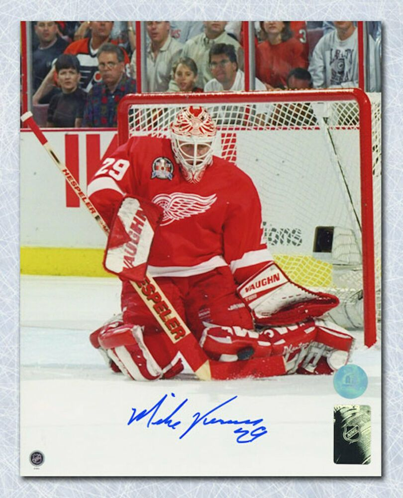 Mike Vernon Detroit Red Wings Autographed Stanley Cup