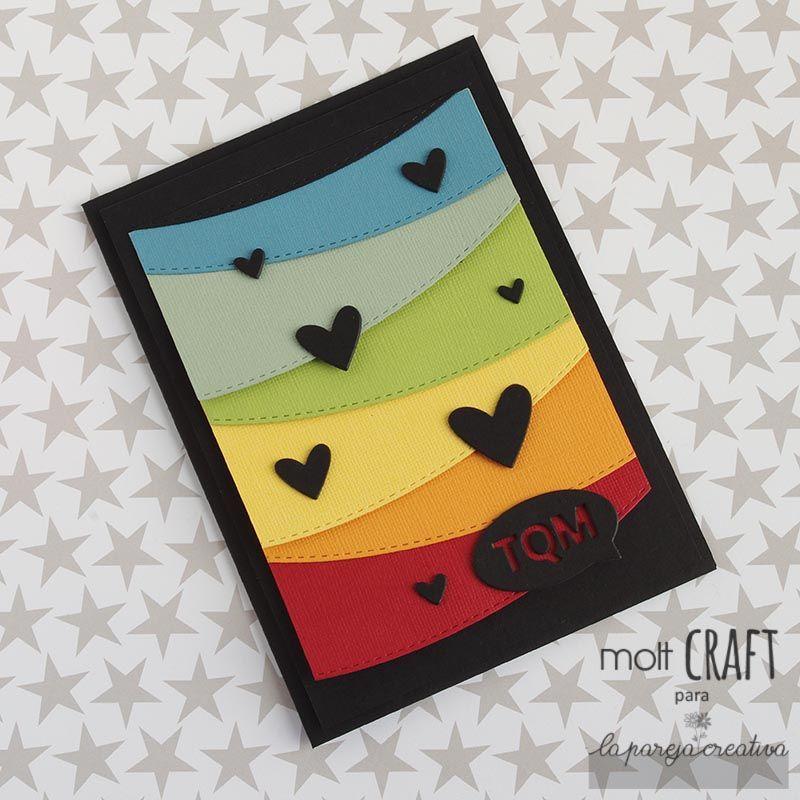 Tarjeta con mensajes escondidos (La pareja creativa) Tarjetas con - tarjetas creativas