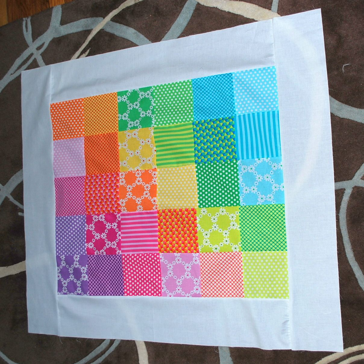 how to make a simple baby quilt for beginners