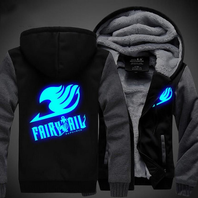 Anime Fairy Tail,Men/'s Cotton Hoodie Sweater Tops Cosplay Costume Unisex