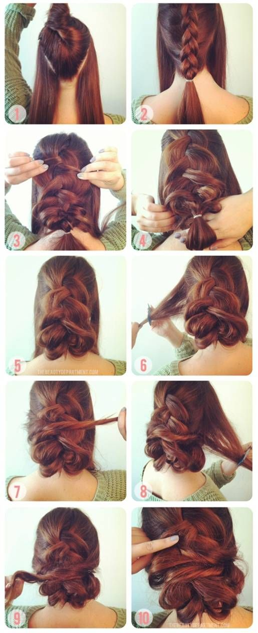 1 Inside Out French Braid 2 Twists Hair Styles Long Hair Styles Great Hair