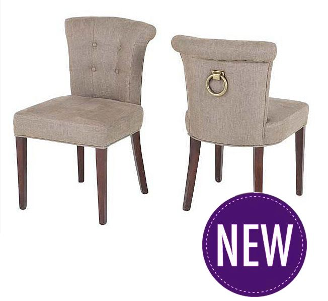 Key Largo Chair Camel Linen Luxury Upholstered Dining From Eichholtz The Is Fully In An Elegant Fabric With A