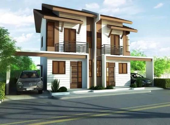 2 Storey Duplex House Design Philippines Duplex House Design Small Apartment Building Design Duplex House