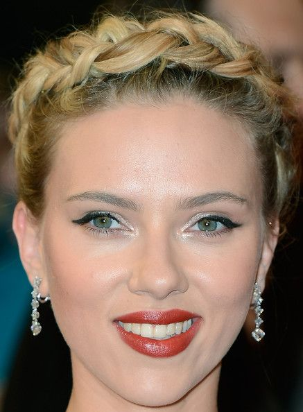 try on haircuts johansson braided updo halo braid updo and 1441