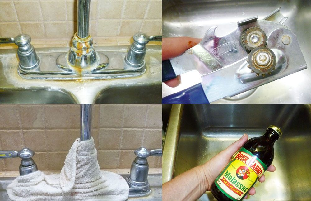 How to Remove Rust - blog post with four natural ways to remove rust using safe and commom products from your home. Rust removal doesn't have to be toxic, expensive or stinky. Check out this blog post and remove unwanted rust from household items, tools and more.