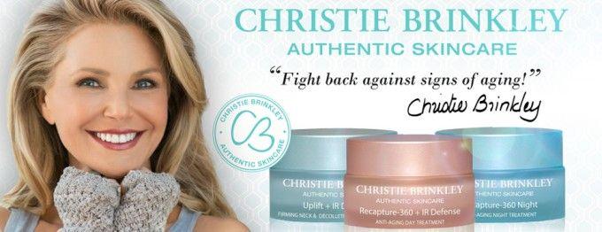 Christie Brinkley Skin Care Health Magazine Reviews Christie Brinkley Skin Care Skin Care Authentic Skincare
