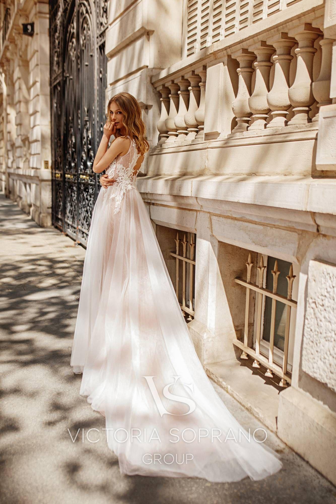 Fleur wedding dress  Model Fleur  Wedding dresses by Victoria Soprano Group Collection