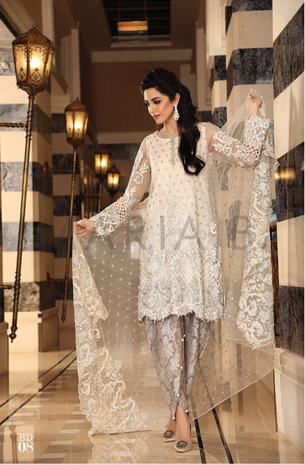 c336cb513e Maria B Mbroidered Eid Collection 2016- Best Women Dresses | StylesGap.com
