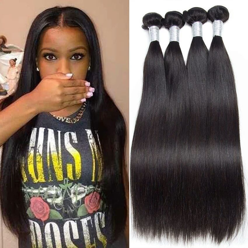 8a Brazilian Virgin Human Hair Straight Products