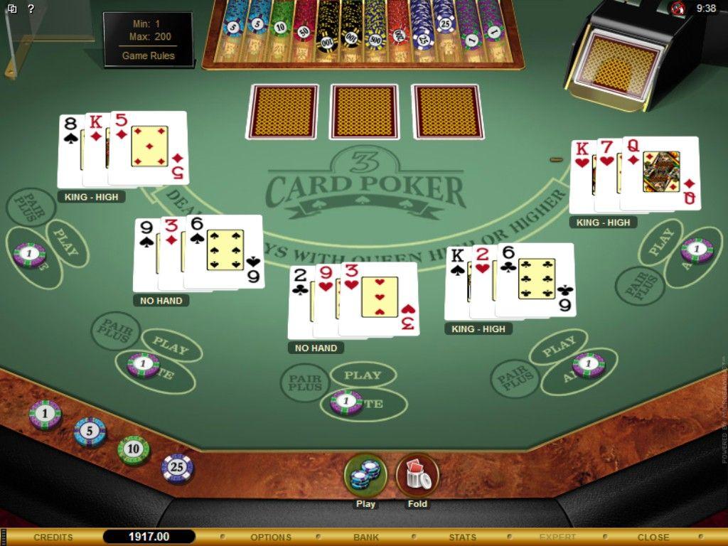 Multihand threecard poker gold excellent online slots