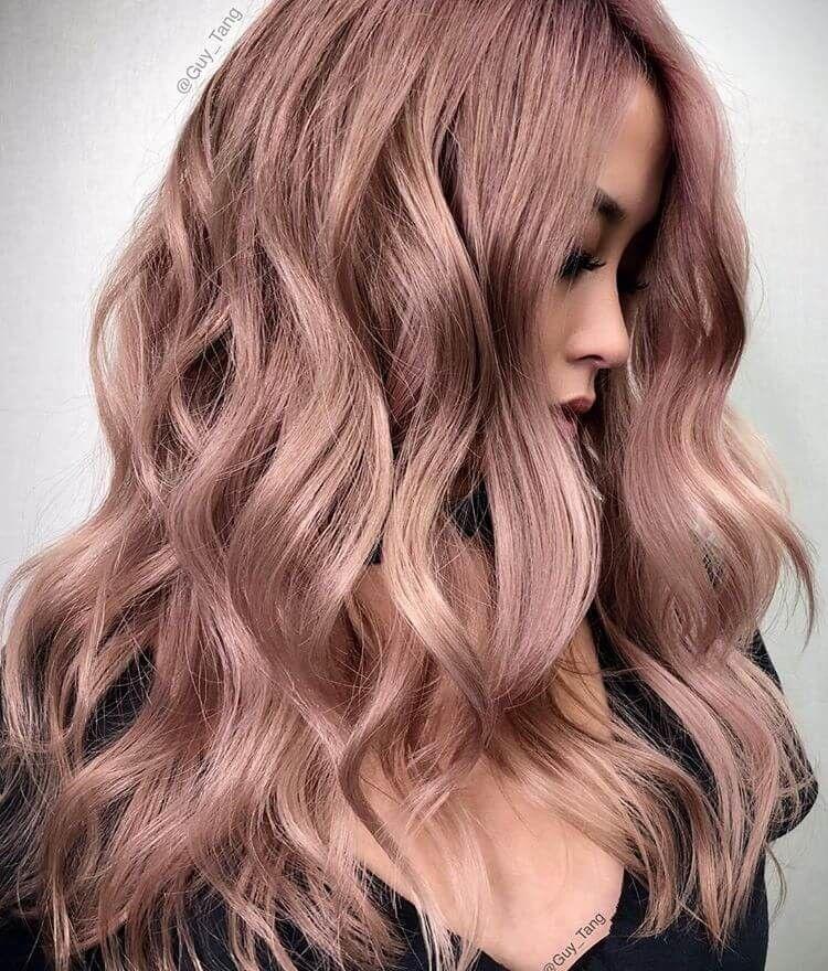50 Unwiderstehliche Rose Gold Haarfarbe Sieht Aus Dass Sie