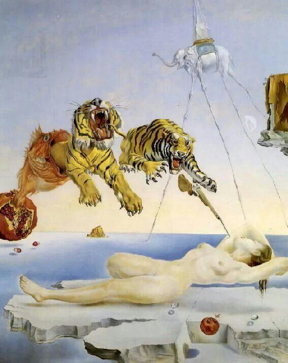 Sogno , Salvador Dalì