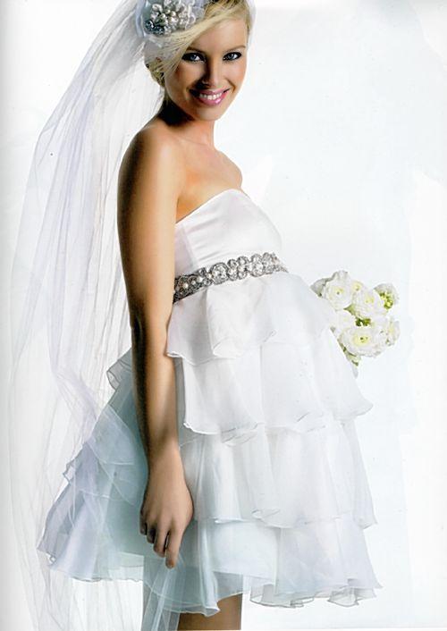 Maternity Dresses: 2012 Hottest and Beautiful Maternity Wedding ...