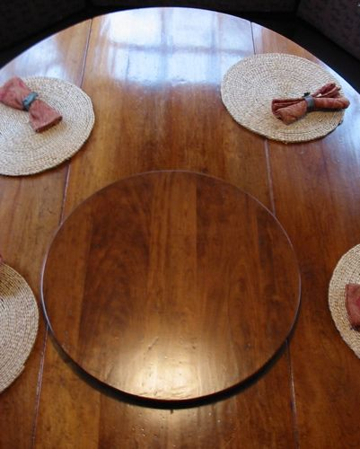 Superior Antique Tables With Lazy Susan   Bing Images
