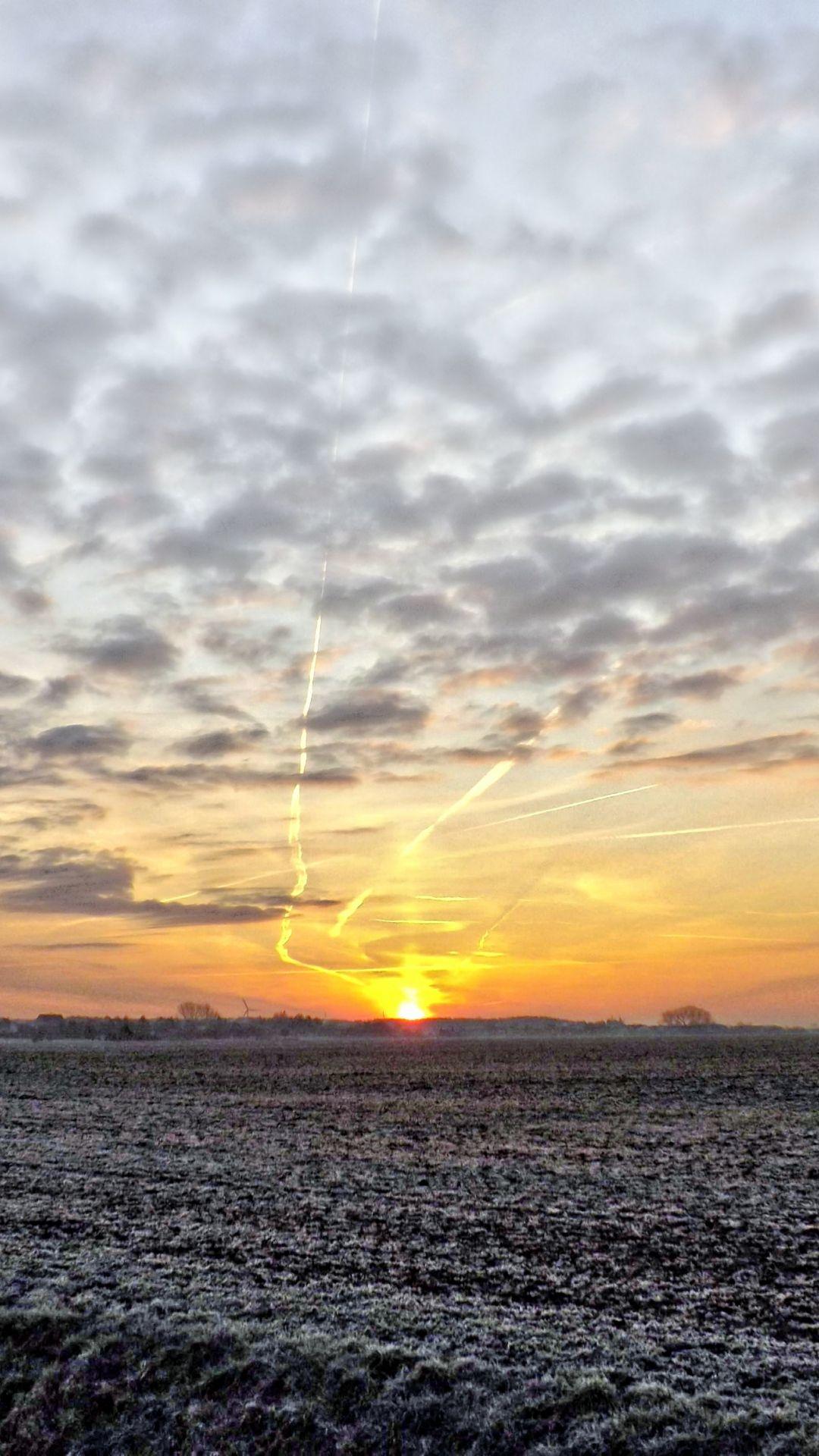 Dark Clouds Skyview Field Frost iPhone 6 plus