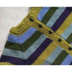 Fuss Free Baby cardigan Knitting pattern by Louise Tilbrook | Knitting Patterns | LoveKnitting
