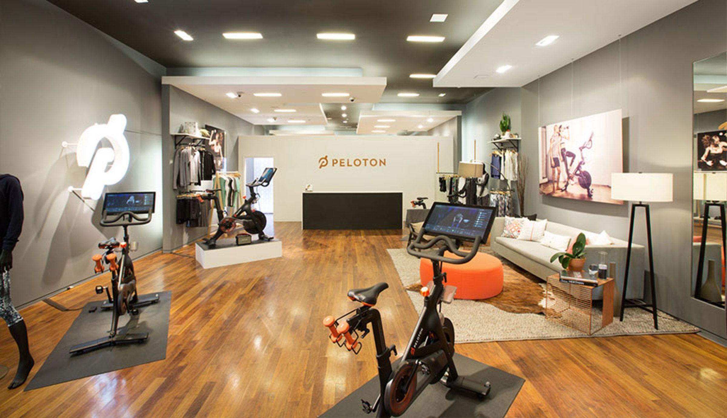 Peloton dallas tx store workout room home workout