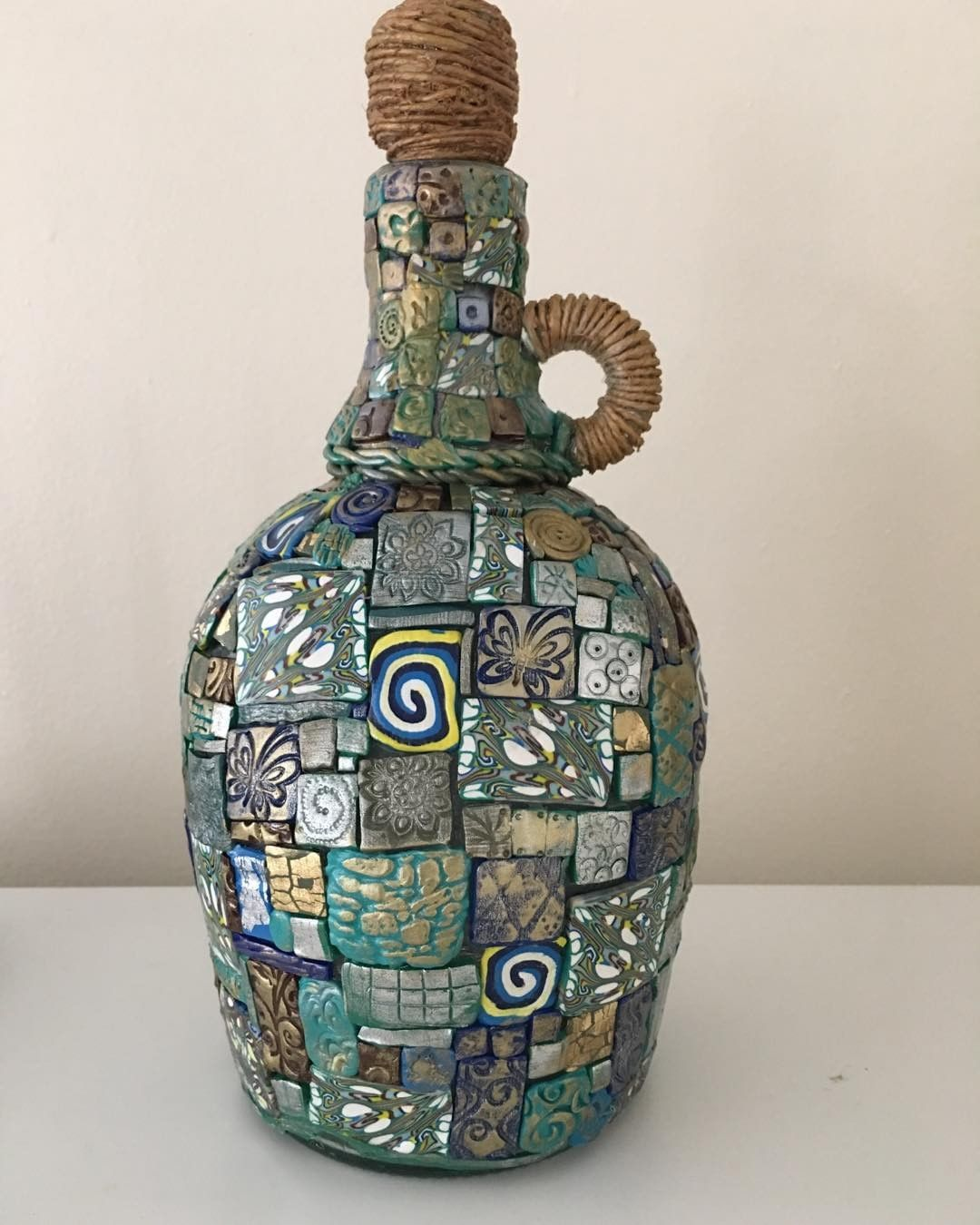 This decorated bottle is called
