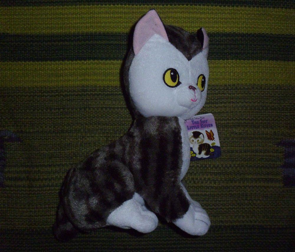 Kohls Cares Plush The Shy Little Kitten Stuffed Cat Animal Soft