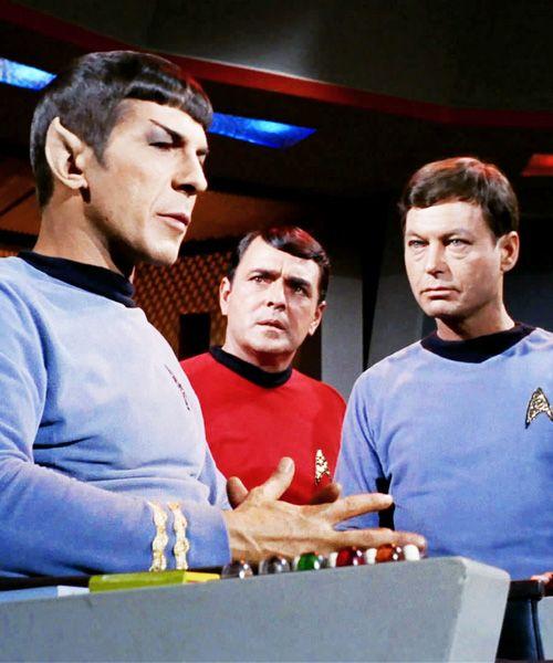 Star Trek ToS - Spock, Scotty, McCoy