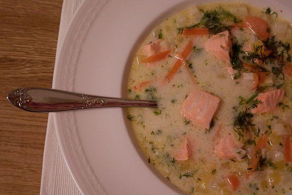 Creamy Norwegian Fish soup  transplantedbaker.typepad.com
