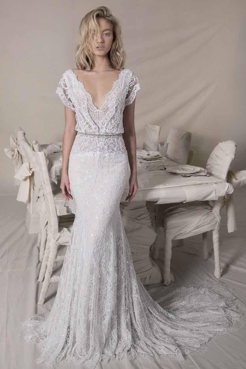 Mod wedding dress  Lihi Hod Wedding Dresses With a Sense of Eternal Romance