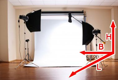 Diy Home Fotostudio Welche Voraussetzungen Sollte Ein Raum Fur Ein