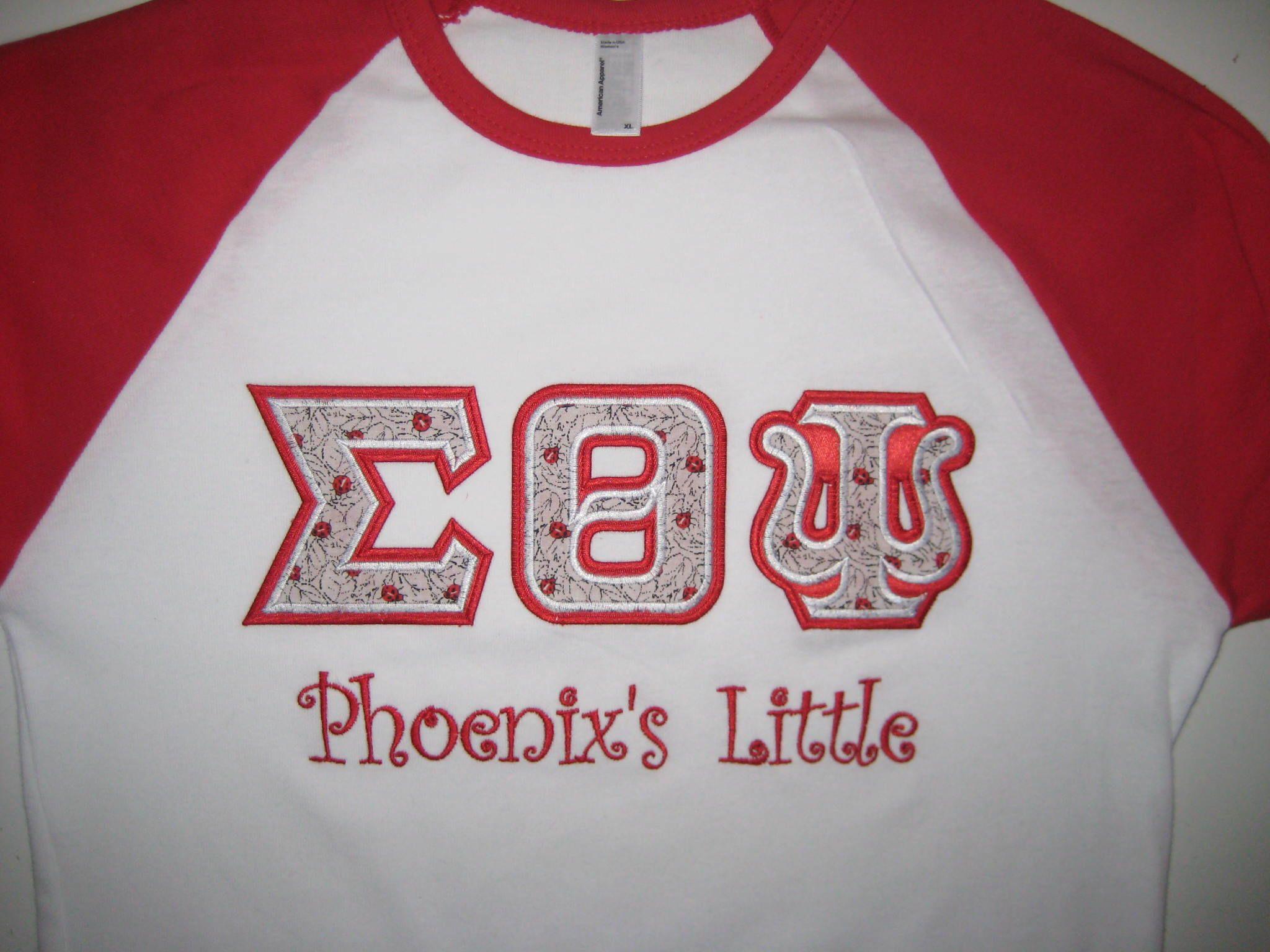 stitch letter shirts
