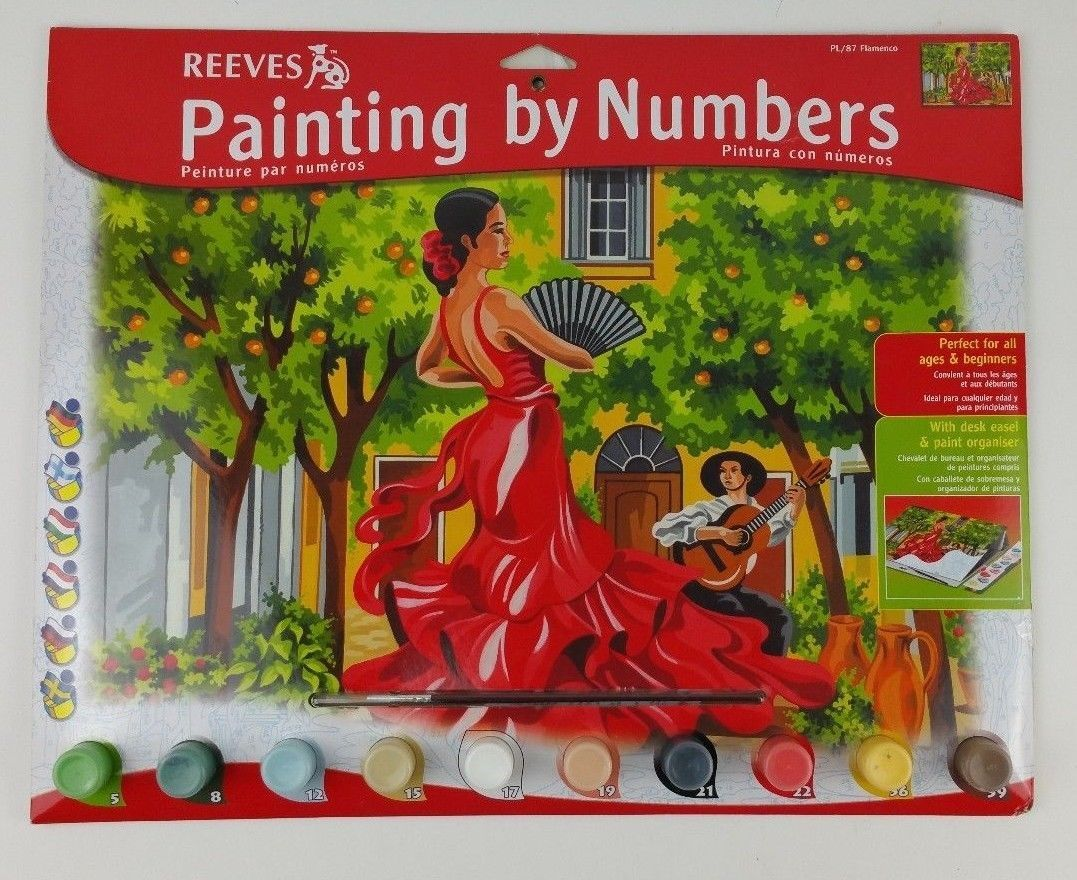 Reeves Paint By Number Kit Artist S Collection 12
