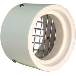 1 1 2 Screened Pvc Vent Cap Cover For Rodents And Debris Model Svc Rs15 Sump Pump Sump Stainless Steel Screen