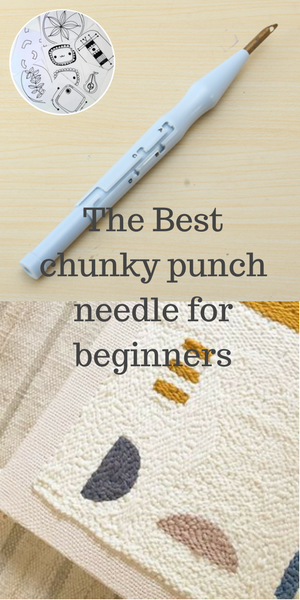 The best punch needle for chunky wool yarn  Buy punch needle