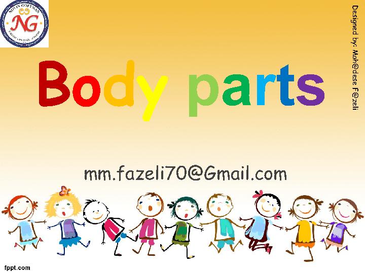 Movie Worksheet: Body Parts