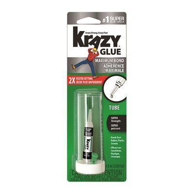 Elmer's Krazy Glue 1.9ml Maximum Bond Tube
