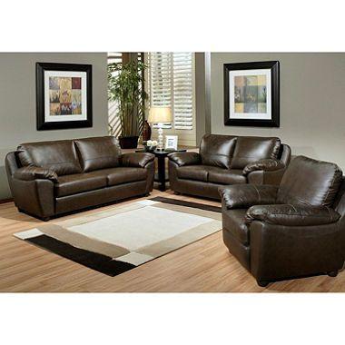 Tremendous Mavin Top Grain Leather Sofa Loveseat And Armchair Set Ibusinesslaw Wood Chair Design Ideas Ibusinesslaworg