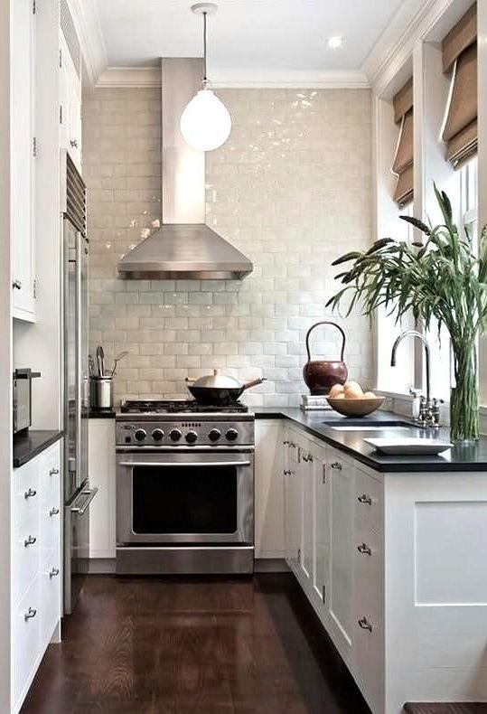 cocina pequeña | Salon | Pinterest | Cocina pequeña, Pequeños y Cocinas