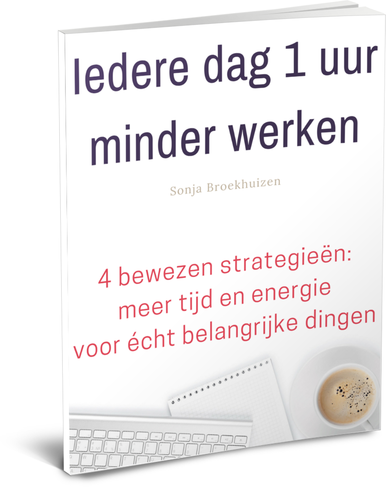 *** Iedere dag 1 uur minder werken? Ja, dat kan écht! *** http://sonjabroekhuizen.nl/e-book-moeiteloos-ondernemen In dit e-book staan tips en adviezen om gelijk mee aan de slag te gaan. Duidelijk. Overzichtelijk. En eenvoudig in gebruik. Voor zowel de startende als de doorgewinterde ondernemer  Sonja Broekhuizen | Moeiteloos Ondernemen http://www.sonjabroekhuizen.nl #Ondernemersgids #MoeiteloosOndernemen