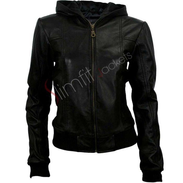 Black Hoodie Style Jacket For Women - My Style | Pinterest ...