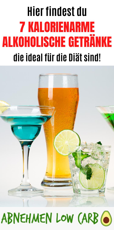 Abnehmen mit alkoholischen Getränken