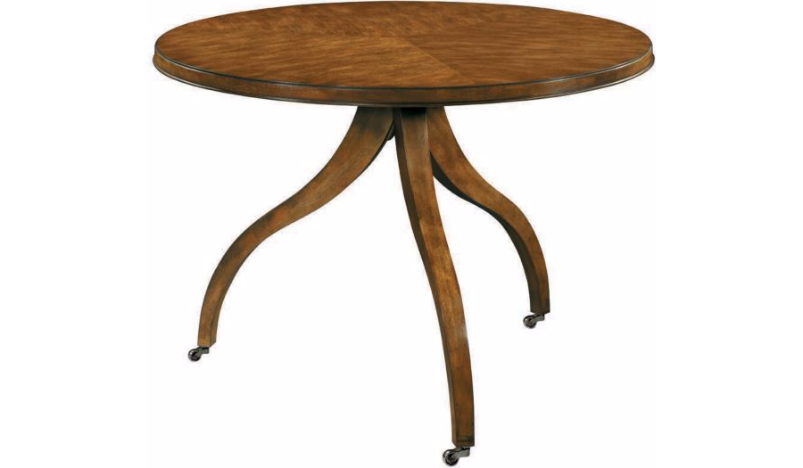 Hickory Chair Ingold Center Table Base & Top Mahogany