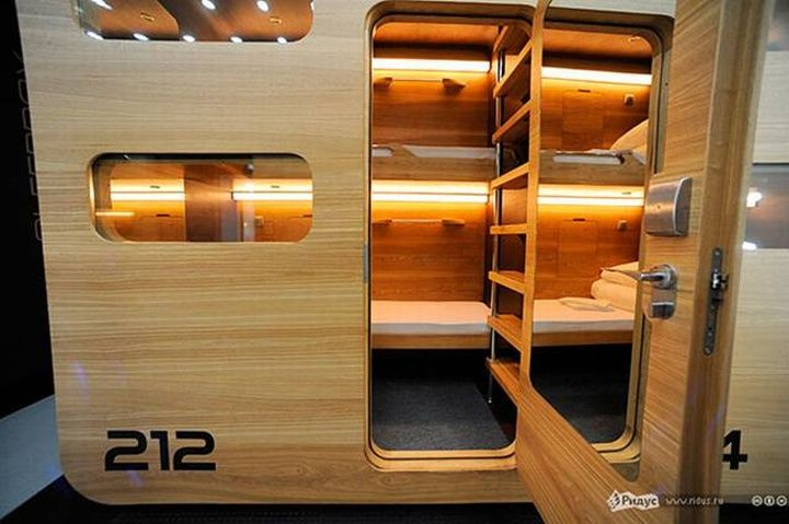 Capsule Hotel Moscow