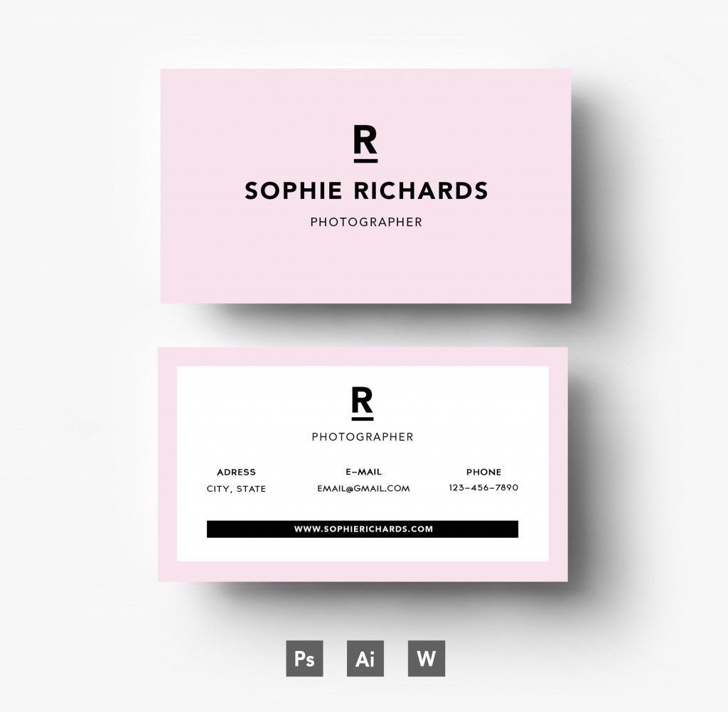 Business Card Template Business Card Template Freepik New - Email business card templates