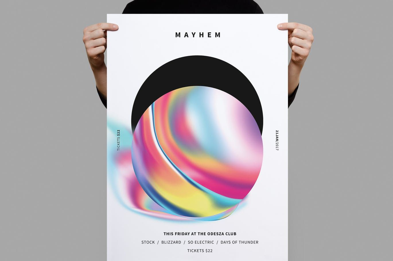Mayhem Poster / Flyer By Samnivala On Envato Elements