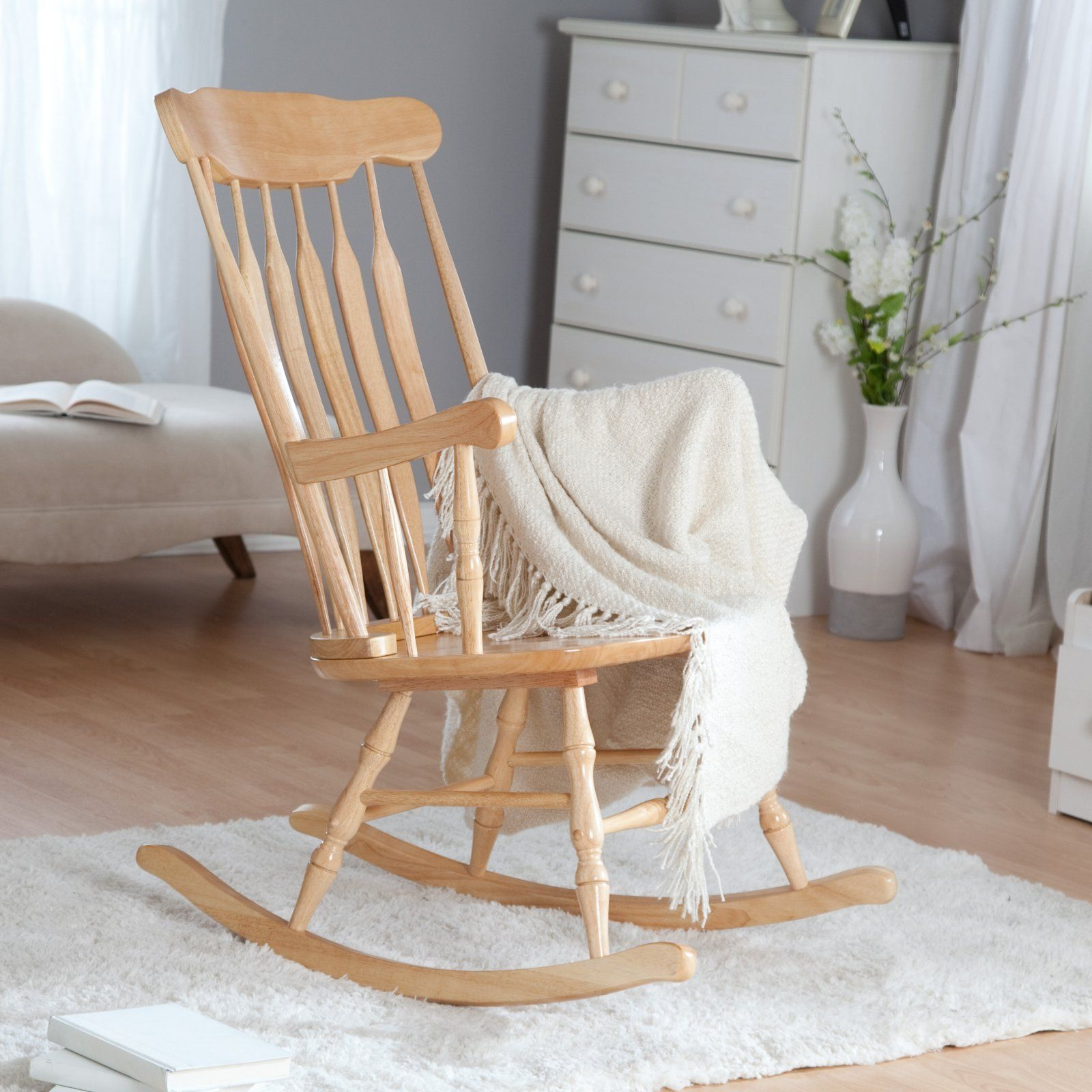 Kidkraft Nursery Rocker Natural Rocking Chairs At Hayneedle Rocking Chair Nursery Nursery Chair Rocking Chair